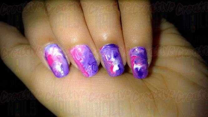Whirly Twirly Nail Art