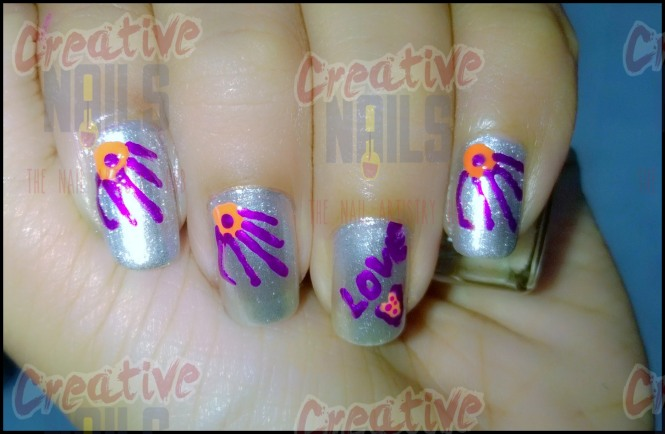 Promise Day Nail Art