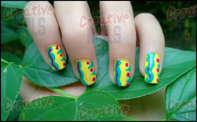 Caterpillar Nail Design