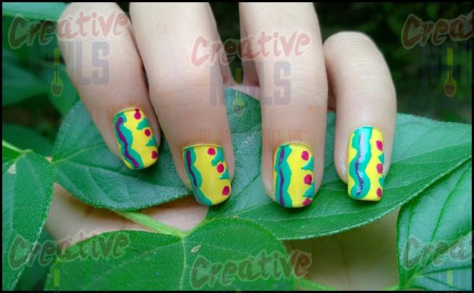 Caterpillar Nail Design
