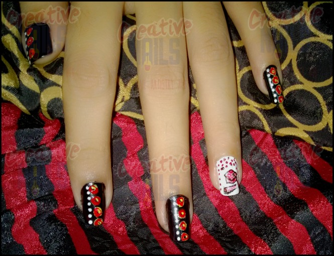Convocation Nail Art