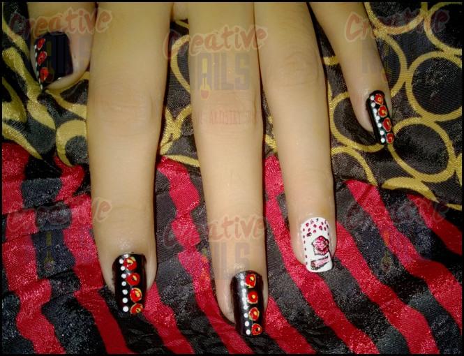 Convocation Nail Art