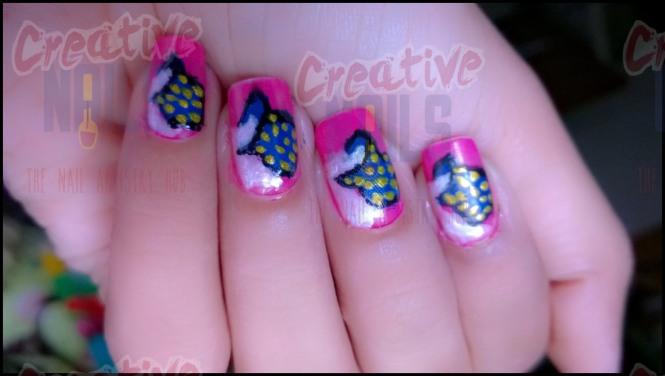 Dahi Handi On Nails