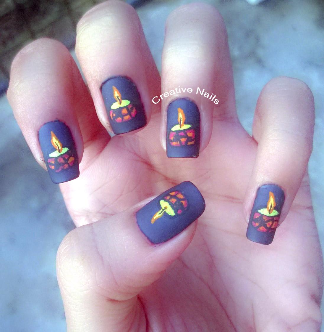 Diwali Special Nails Creative Nails