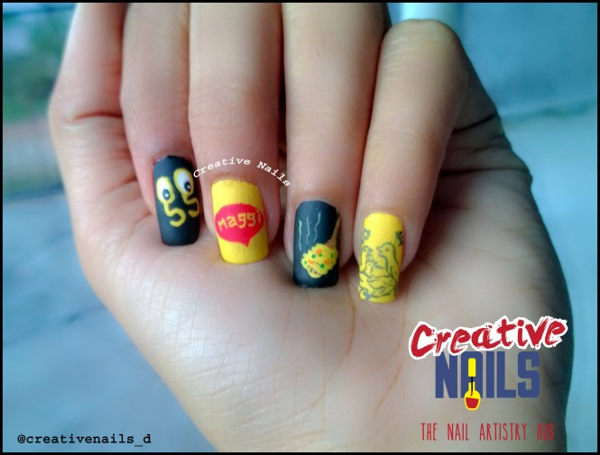 Welcome Back Maggi Nail Art