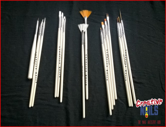Nail Art Brushes From Ebay
