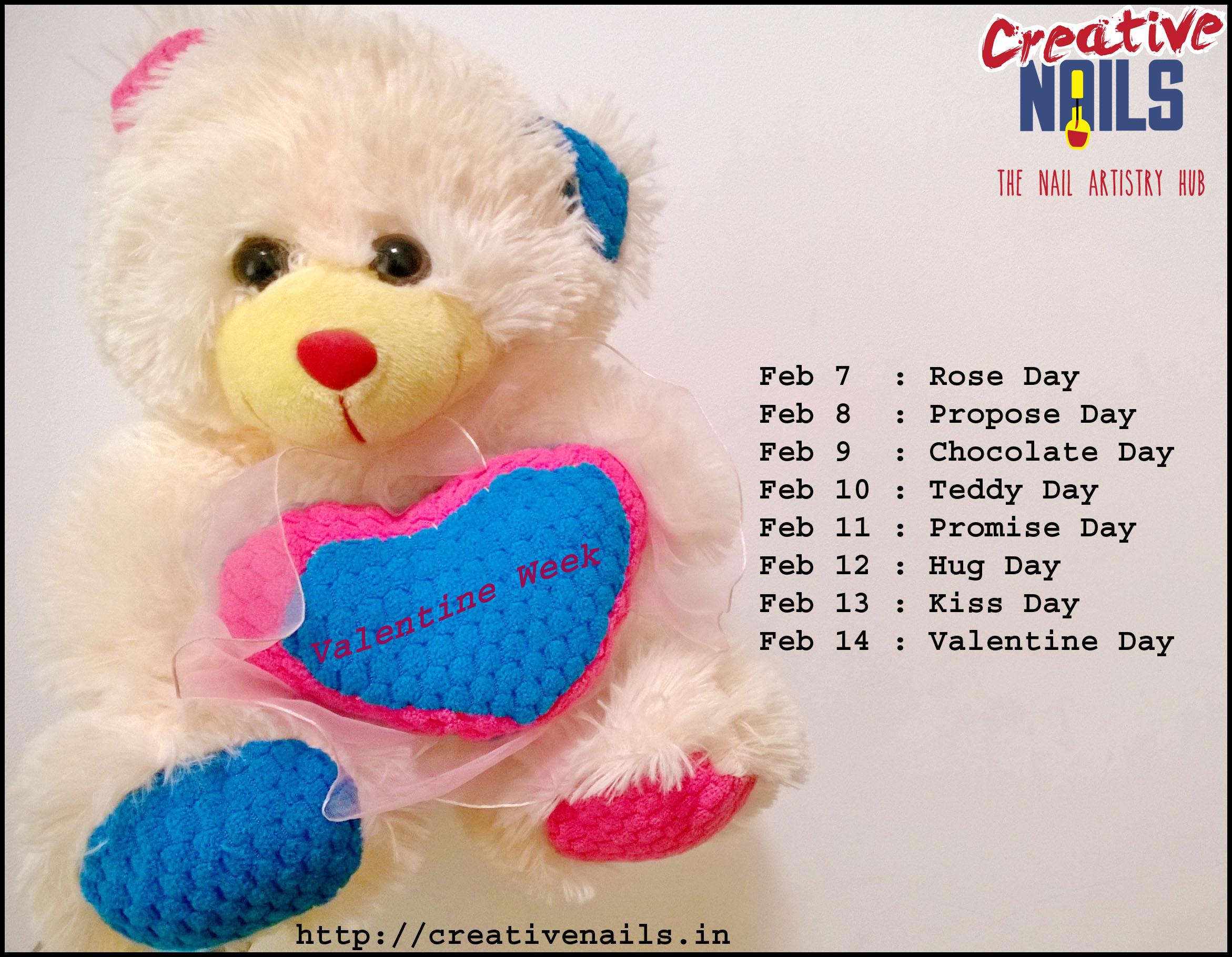 Valentine Week Dates
