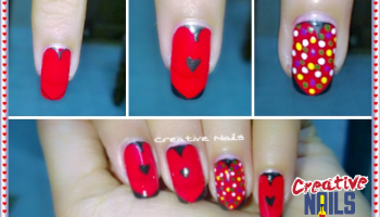 Do it yourself 2 diy snowflakes nail art creative nails do it yourself 3 diy valentines day prinsesfo Image collections