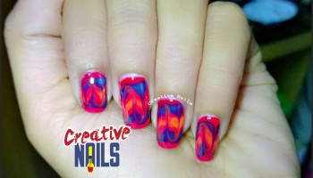 Drag marble nail love creative nails do it yourself 4 diy drag marbles solutioingenieria Choice Image