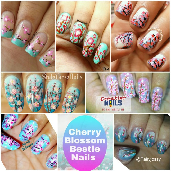 Cherry Blossom Bestie Nails