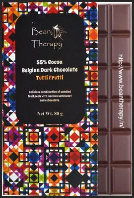 Belgian Dark Chocolate - Tutti Frutti