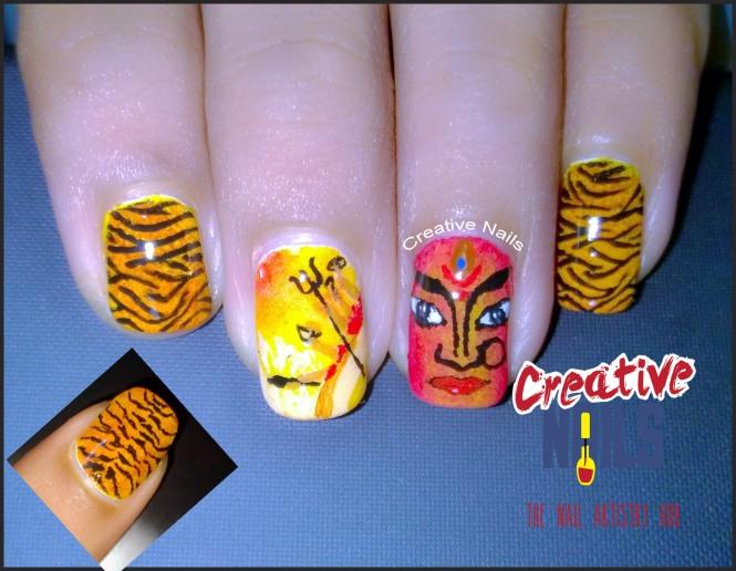 Navratri Nail Art!