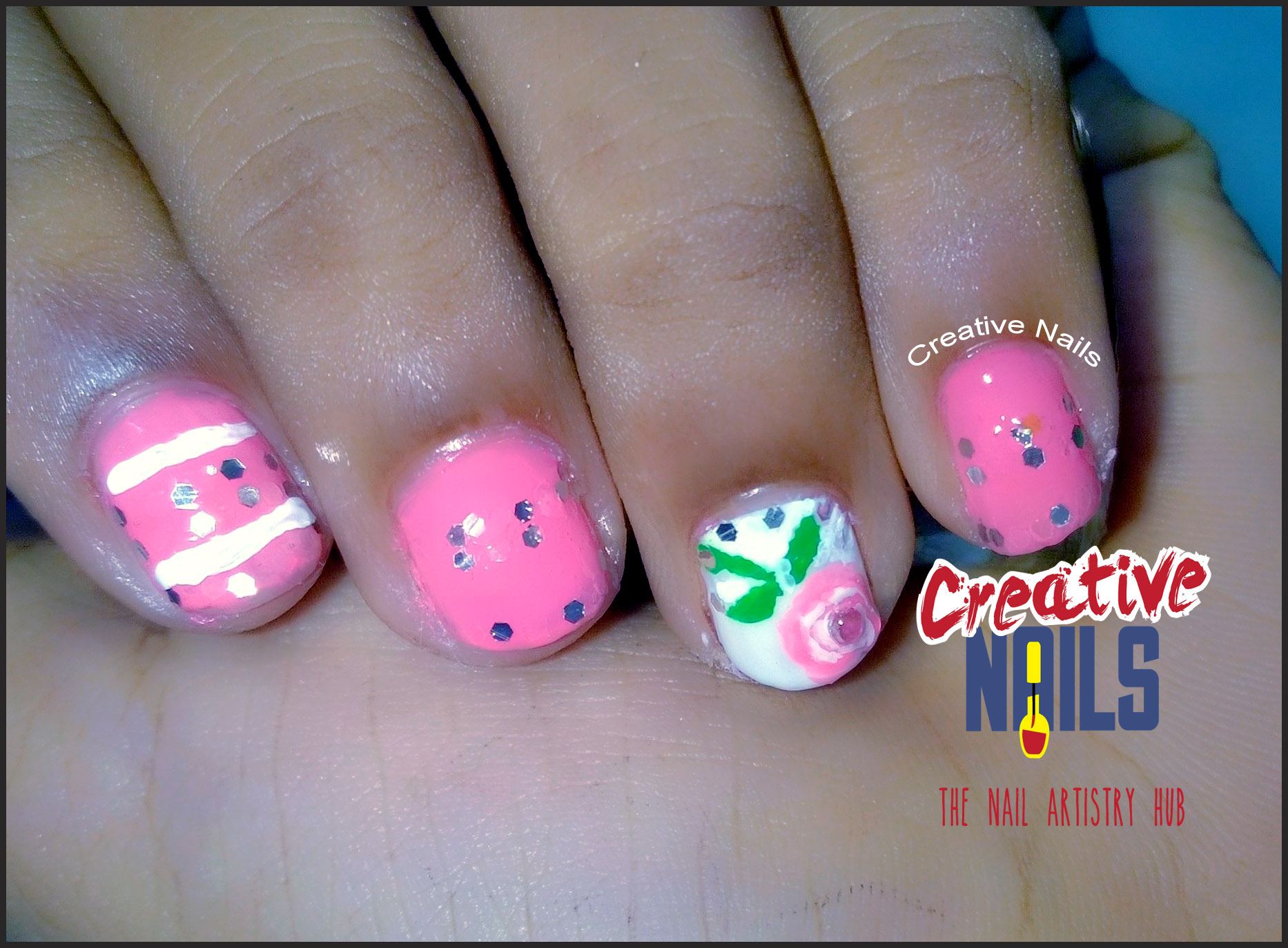 Childrens Day 2016 Smooshy Nail Art Creative Nails