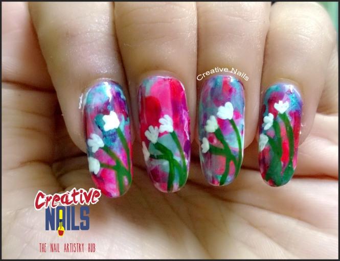 Smooshy Nail Art