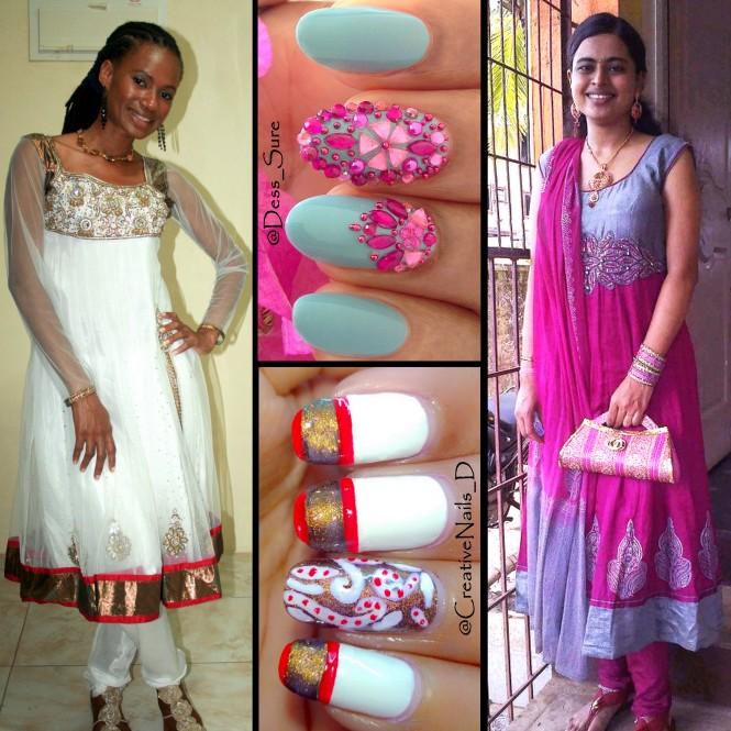 Dress Matching Nail Collaboration