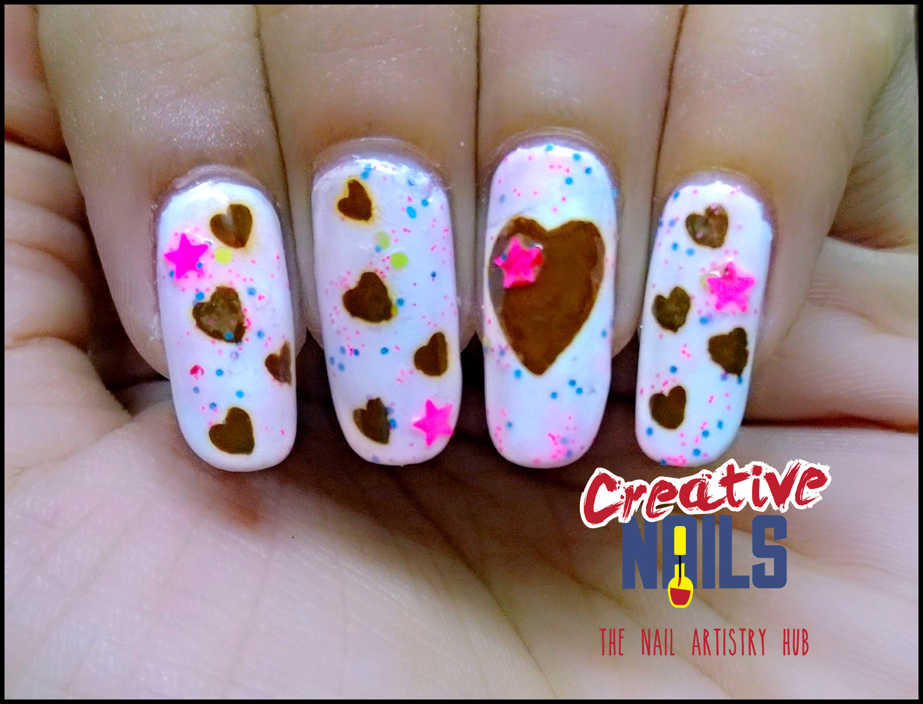 Chocolate Day 2017 Nail Art