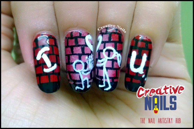 Propose Day 2017 Nail Art