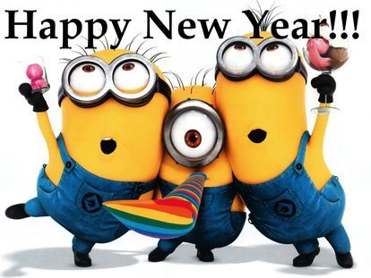 Image of: 2019 Minions Creative Nails New Year With Minions Nail Art Creative Nails