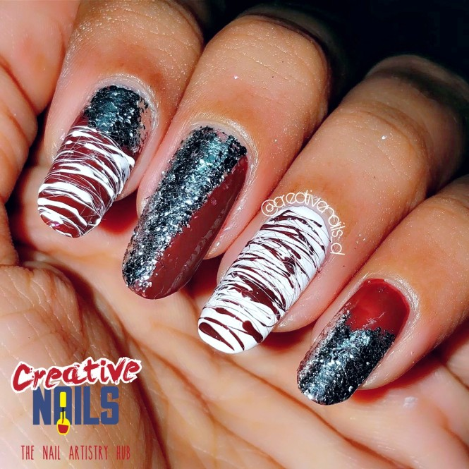 Valentines Week 2018 Chocolate Day Nail Art Creative Nails