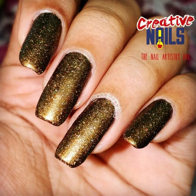 F.U.N Lacquer Holographic Nail Polish - Philia (H)