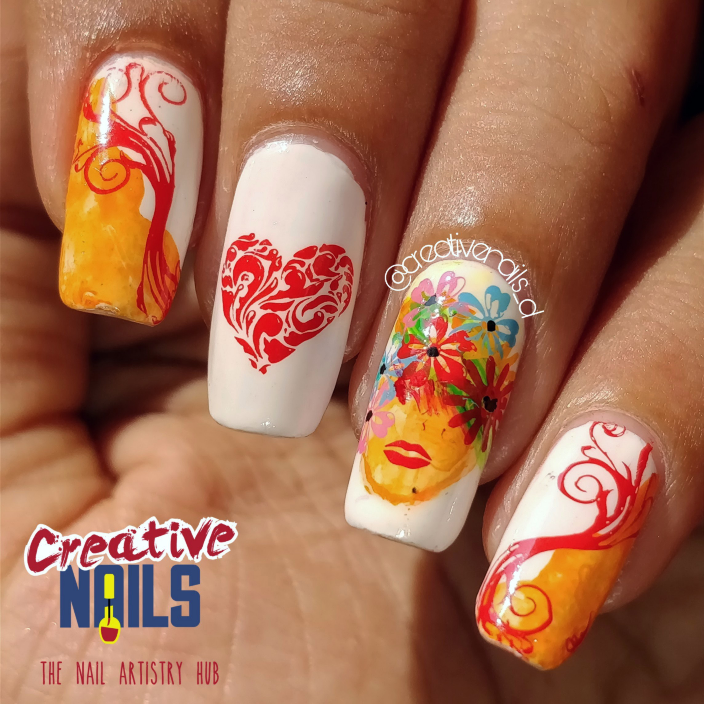 Happy International Women's Day 2018 Nail Art