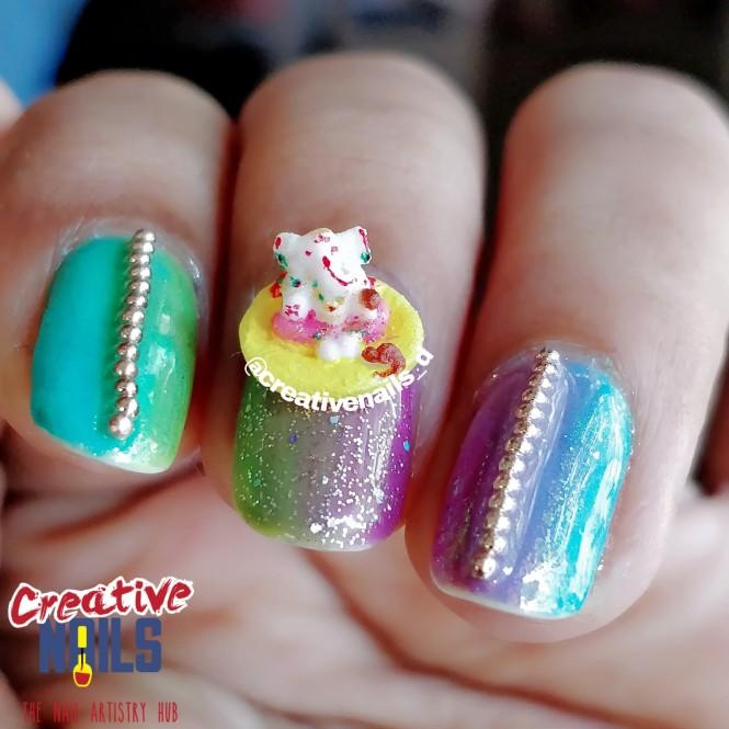 Ganesh Chaturthi special 3D Nail Art!