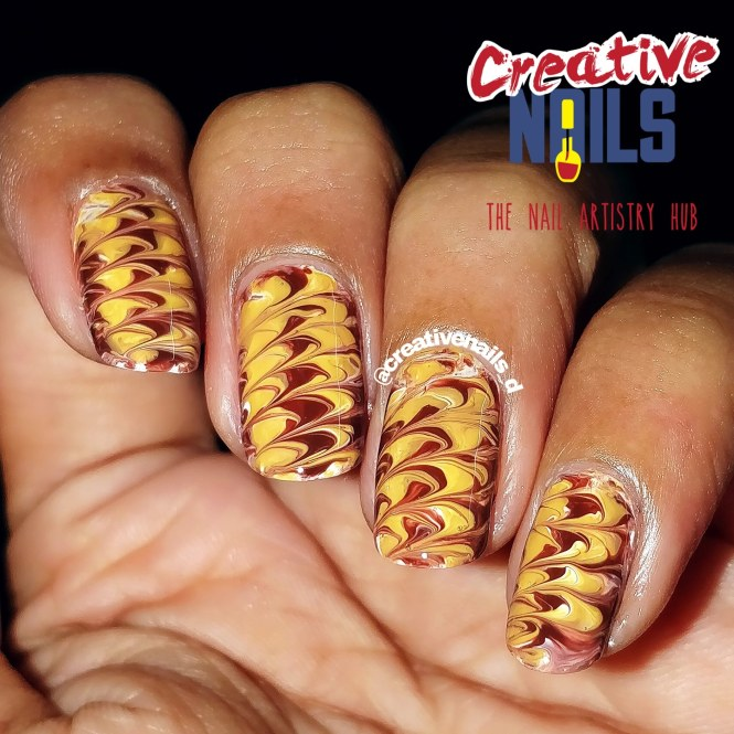 Valentine's Week 2019 - Chocolate Day Nail Art