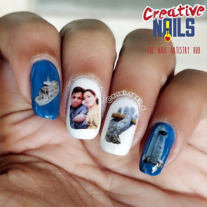 Photo Nail Art For Vietnam Tour