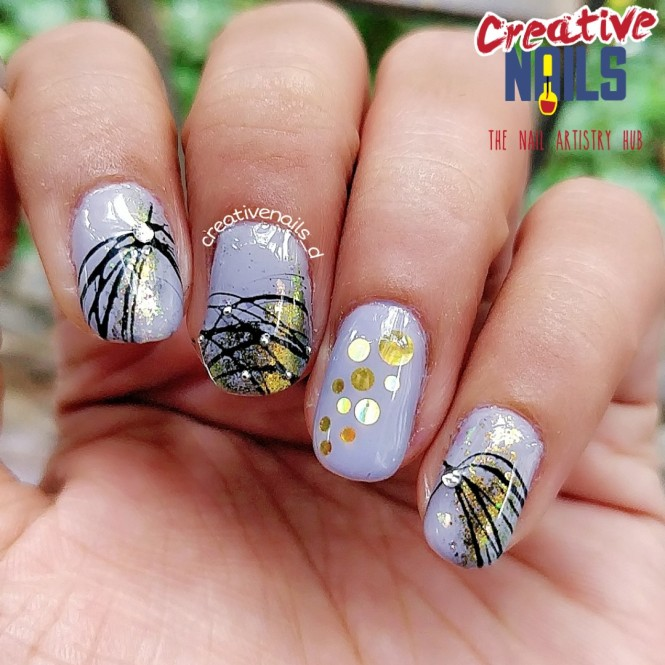 Spider Gel Nail Art!