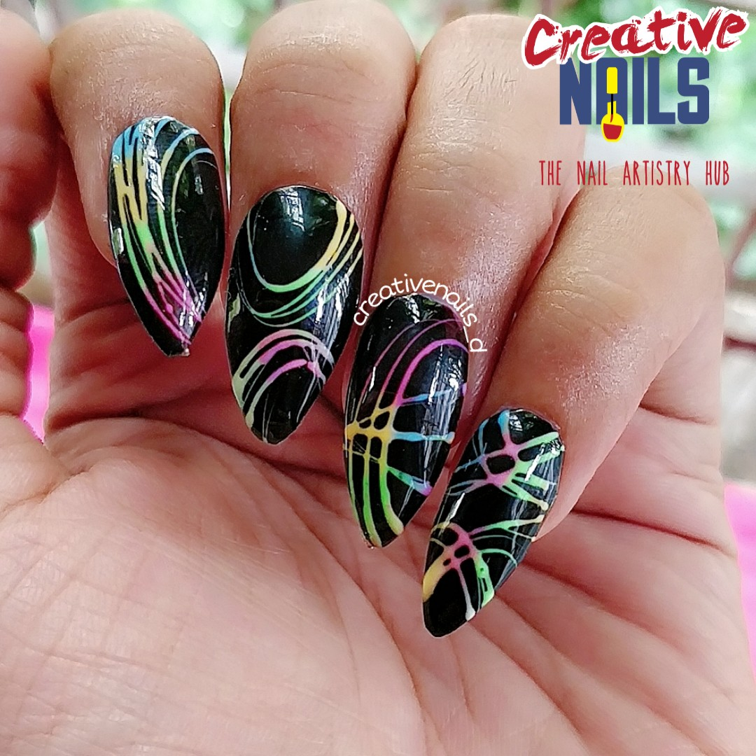 Happy Diwali Nail Art - 2019
