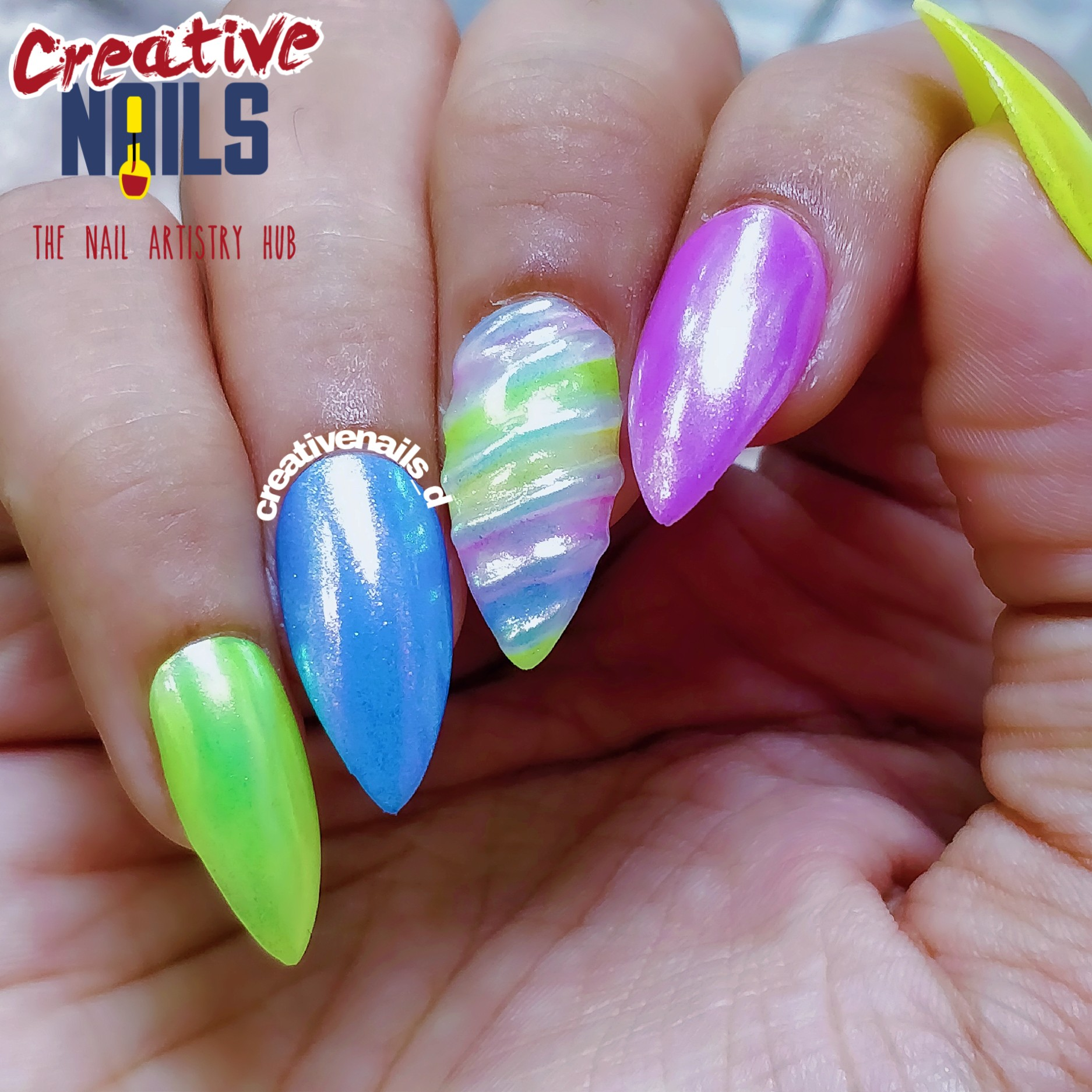 Unicorn Nail Art!