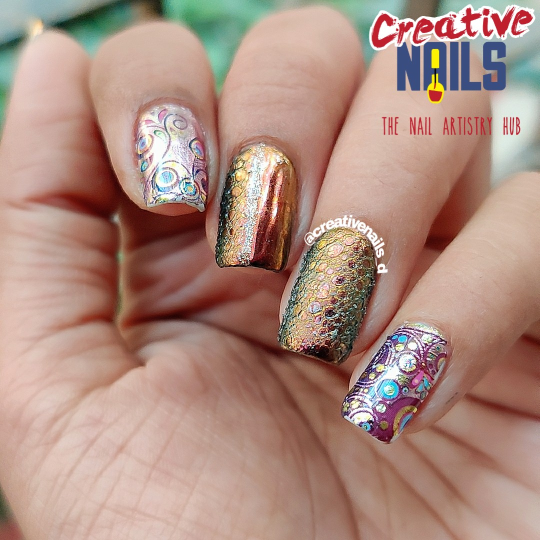 Bubble Nail Art